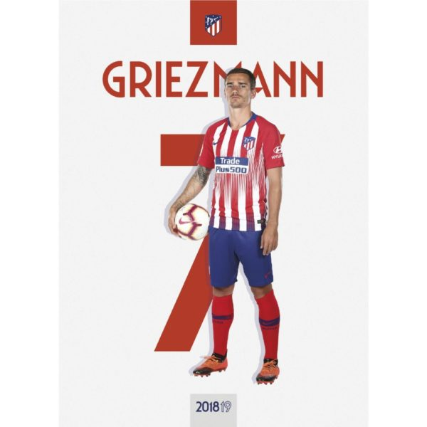 BUY ANTOINE GRIEZMANN 2018-19 POSTER IN WHOLESALE ONLINE