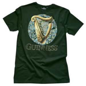 BUY GREEN HARP CELTIC CIRCLE T-SHIRT IN WHOLESALE ONLINE