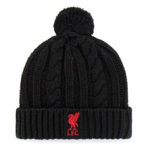 BUY LIVERPOOL BLACK POM BEANIE IN WHOLESALE ONLINE!