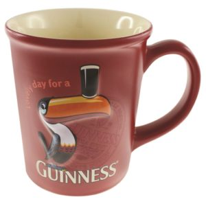 BUY GUINNESS RED TOUCAN MUG IN WHOLESALE ONLINE