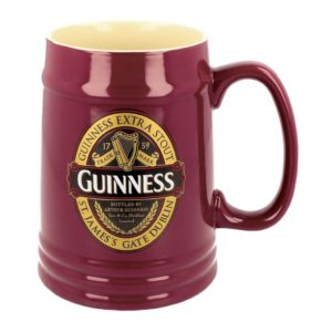 BUY GUINNESS RUBY RED CERAMIC TANKARD IN WHOLESALE ONLINE