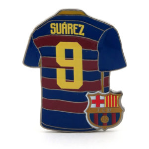 BUY BARCELONA SUAREZ JERSEY PIN IN WHOLESALE ONLINE!