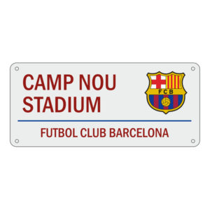 BUY BARCELONA WHITE STREET SIGN IN WHOLESALE ONLINE!