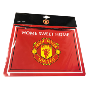 BUY MANCHESTER UNITED HOME SWEET HOME SIGN IN WHOLESALE ONLINE
