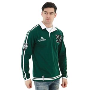 BUY GUINNESS TRADITIONAL GREEN RUGBY JERSEY IN WHOLESALE ONLINE