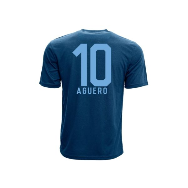 BUY MANCHESTER CITY AGUERO NAME NUMBER T-SHIRT IN WHOLESALE ONLINE