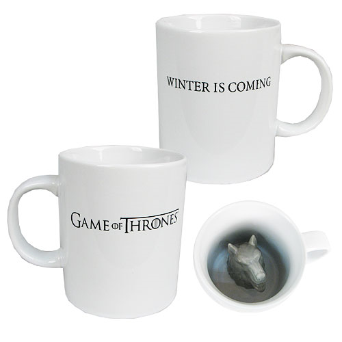 BUY GAME OF THRONES STARK DIREWOLF SCULPTED MUG IN WHOLESALE ONLINE