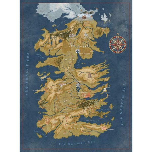 BUY GAME OF THRONES WESTEROS MAP PUZZLE IN WHOLESALE ONLINE