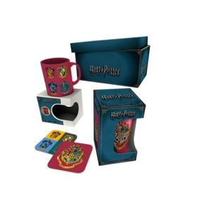 BUY HARRY POTTER CREST DRINKWARE GIFT BOX IN WHOLESALE ONLINE