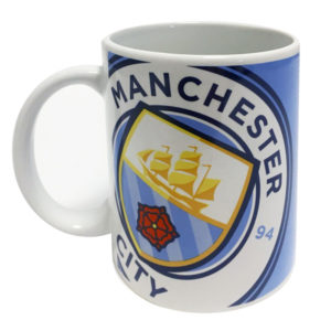 BUY MANCHESTER CITY HALFTONE MUG IN WHOLESALE ONLINE