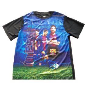 BUY YOUTH BARCELONA MESSI T-SHIRT IN WHOLESALE ONLINE