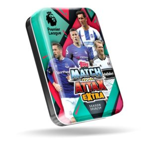 BUY 2018-19 TOPPS MATCH ATTAX EXTRA EPL CARDS MINI TIN IN WHOLESALE ONLINE