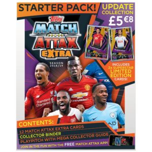 BUY 2018-19 TOPPS MATCH ATTAX EXTRA EPL CARDS STARTER PACK IN WHOLESALE ONLINE