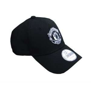 BUY MANCHESTER UNITED BLACK NEW ERA 9FORTY BASEBALL HAT IN WHOLESALE ONLINE