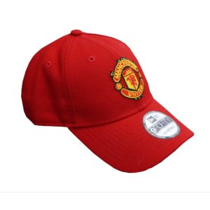 BUY MANCHESTER UNITED RED NEW ERA 9FORTY BASEBALL HAT IN WHOLESALE ONLINE