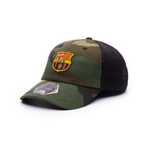 BUY BARCELONA CAMO CLASSIC TRUCKER BASEBALL HAT IN WHOLESALE ONLINE!