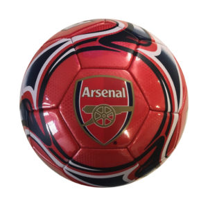 BUY ARSENAL RED SWIRL SOCCER BALL IN WHOLESALE ONLINE