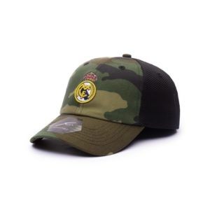BUY REAL MADRID CAMO CLASSIC TRUCKER BASEBALL HAT IN WHOLESALE ONLINE!