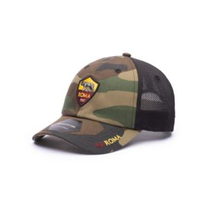 BUY AS ROMA CAMO CLASSIC TRUCKER BASEBALL HAT IN WHOLESALE ONLINE!