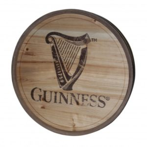 BUY GUINNESS HARP WOODEN BARREL WALL ART IN WHOLESALE ONLINE