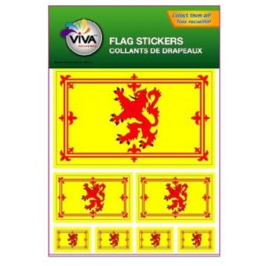 BUY SCOTLAND RAMPANT LION STICKER SHEETS IN WHOLESALE ONLINE