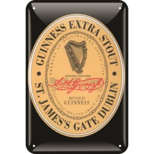 BUY GUINNESS HERITAGE LABEL METAL SIGN IN WHOLESALE ONLINE