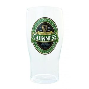 BUY GUINNESS LOOSE IRELAND PINT GLASS IN WHOLESALE ONLINE