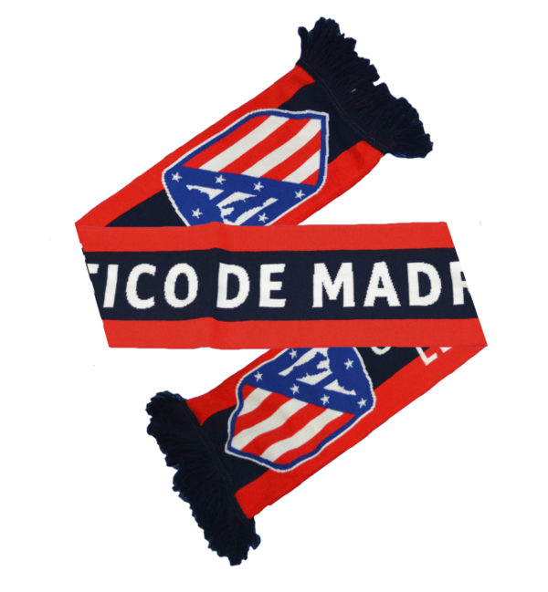 BUY ATLETICO MADRID HD JACQUARD SCARF IN WHOLESALE ONLINE