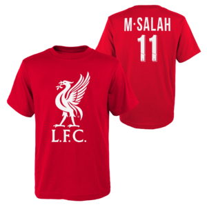 BUY LIVERPOOL SALAH NAME NUMBER YOUTH T-SHIRT IN WHOLESALE ONLINE