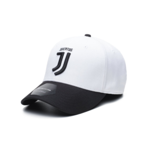 BUY JUVENTUS BLACK WHITE ADJUSTABLE HAT IN WHOLESALE ONLINE