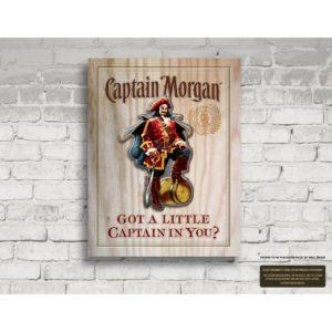BUY CAPTAIN MORGAN GOT A LITTLE CAPTAIN IN YOU 3D MDF IN WHOLESALE ONLINE
