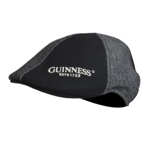 BUY GUINNESS GREY & BLACK PANELED IVY HAT IN WHOLESALE ONLINE