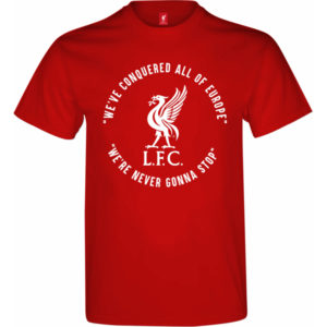 BUY LIVERPOOL RED CHAMPIONS LEAGUE WINNERS T-SHIRT IN WHOLESALE ONLINE