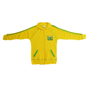 BUY BRAZIL YELLOW YOUTH JACKET IN WHOLESALE ONLINE