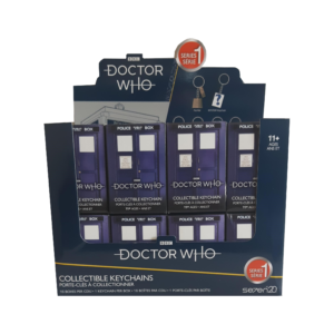 BUY DOCTOR WHO BLIND BOX ASSORTED KEYCHAINS IN WHOLESALE ONLINE