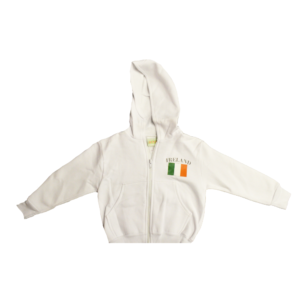 BUY IRELAND WHITE YOUTH JACKET IN WHOLESALE ONLINE