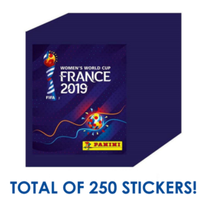 Women's World Cup France Sticker Box