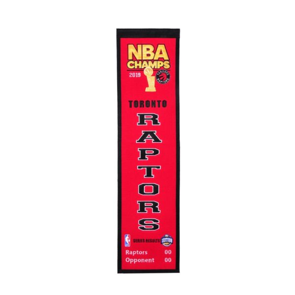 BUY RAPTORS 2019 NBA CHAMPIONS HERITAGE BANNER IN WHOLESALE ONLINE
