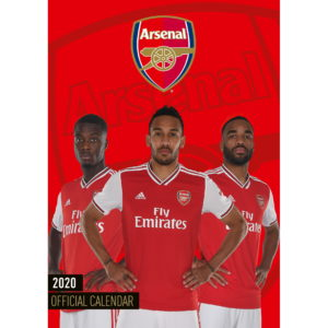 BUY ARSENAL 2020 CALENDAR IN WHOLESALE ONLINE
