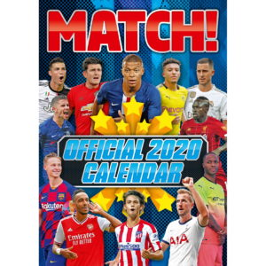 BUY MATCH 2020 SOCCER SUPERSTARS CALENDAR IN WHOLESALE ONLINE