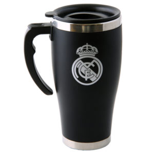 REAL MADRID HANDLE EXECUTIVE TRAVEL MUG
