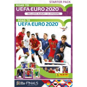 2020 PANINI ROAD TO EURO STICKERS