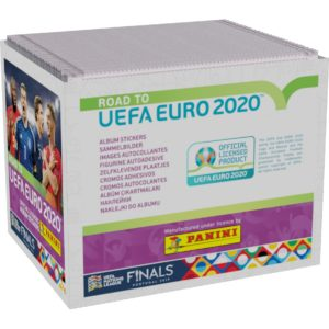 BUY 2020 PANINI ROAD TO EURO STICKERS BOX IN WHOLESALE ONLINE