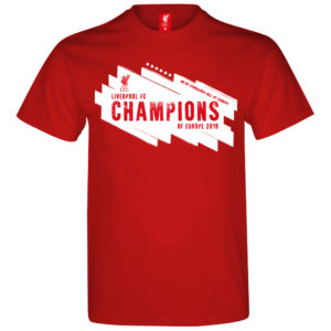 LIVERPOOL CHAMPIONS LEAGUE WINNER 2019 T-SHIRT