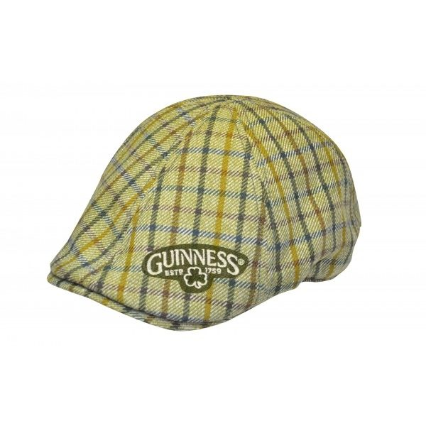 GUINNESS GREEN PLAID IVY HAT