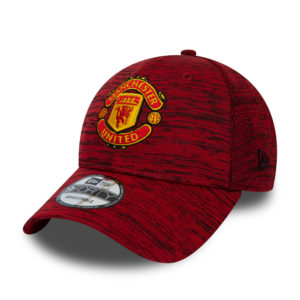BUY MANCHESTER UNITED RED HEATHER NEW ERA 9FORTY BASEBALL HAT IN WHOLESALE ONLINE