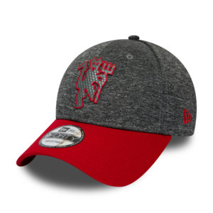 BUY MANCHESTER UNITED GREY HEATHER NEW ERA 9FORTY BASEBALL HAT IN WHOLESALE ONLINE