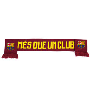 BARCELONA DOUBLE SIDED MES QUE UN CLUB SCARF