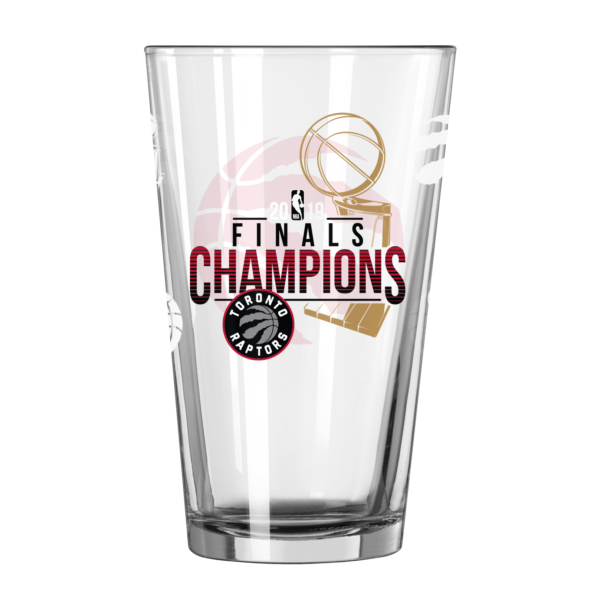 BUY RAPTORS 2019 NBA CHAMPIONS PINT GLASS SET IN WHOLESALE ONLINE