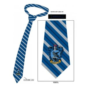 HARRY POTTER RAVENCLAW STRIPED TIE